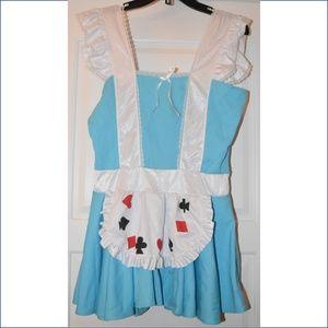 Alice In Wonderland Costume - Size Large